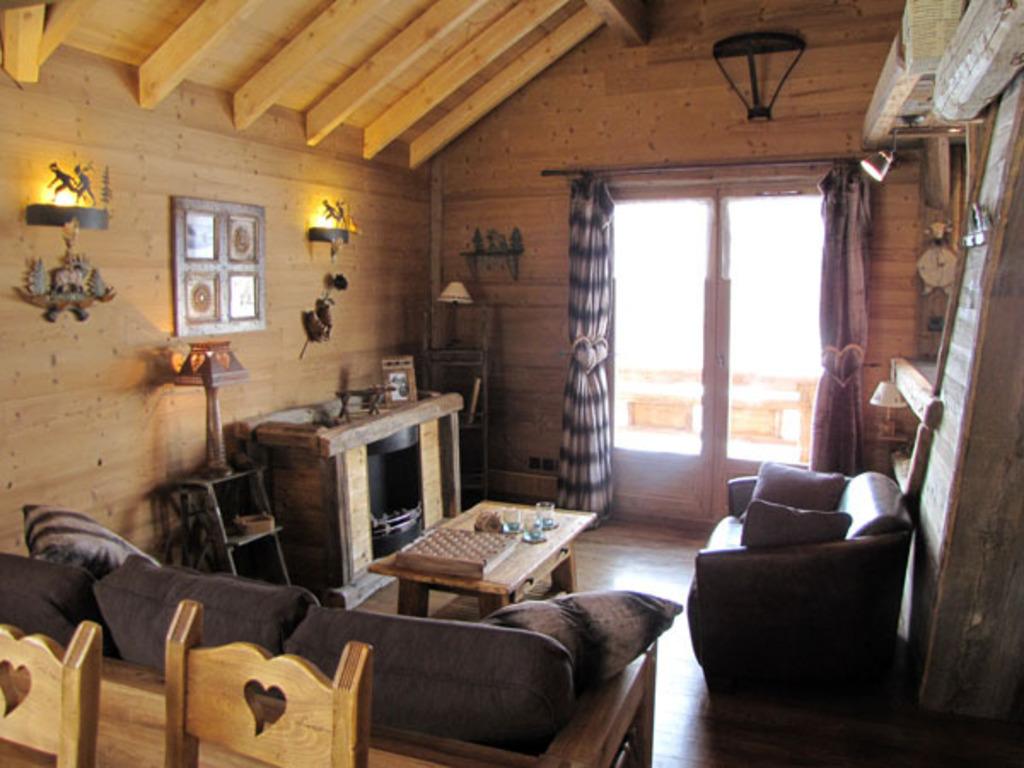 chalet le grenier de germaine vaujany d s 532. Black Bedroom Furniture Sets. Home Design Ideas