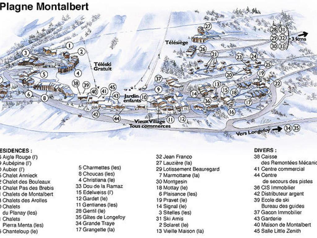 Résidence Les Plaisances Montalbert