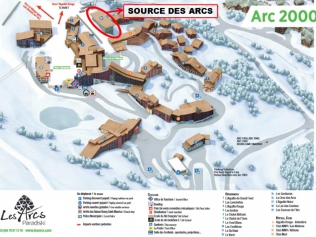 Résidence Chalet des Neiges La Source des Arcs