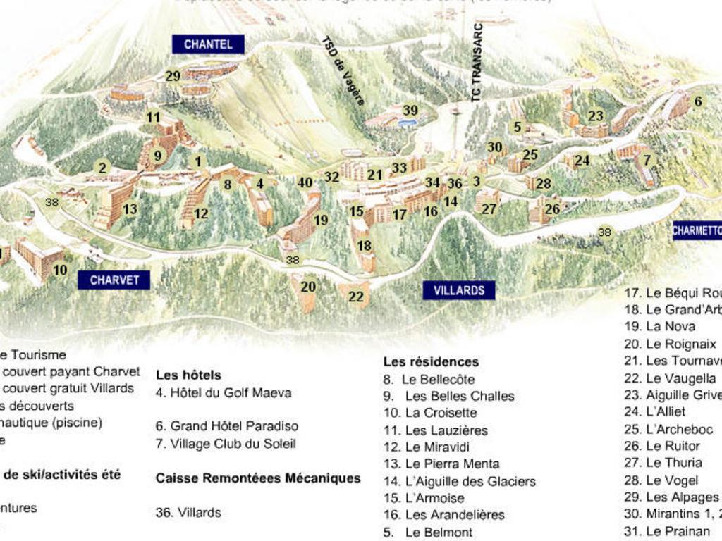 Résidence Grand Arbois Arc 1800