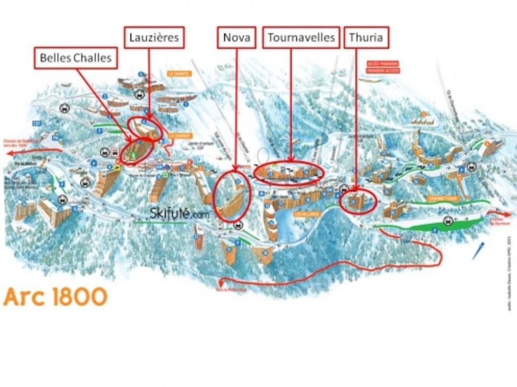 Résidence La Nova Arc 1800