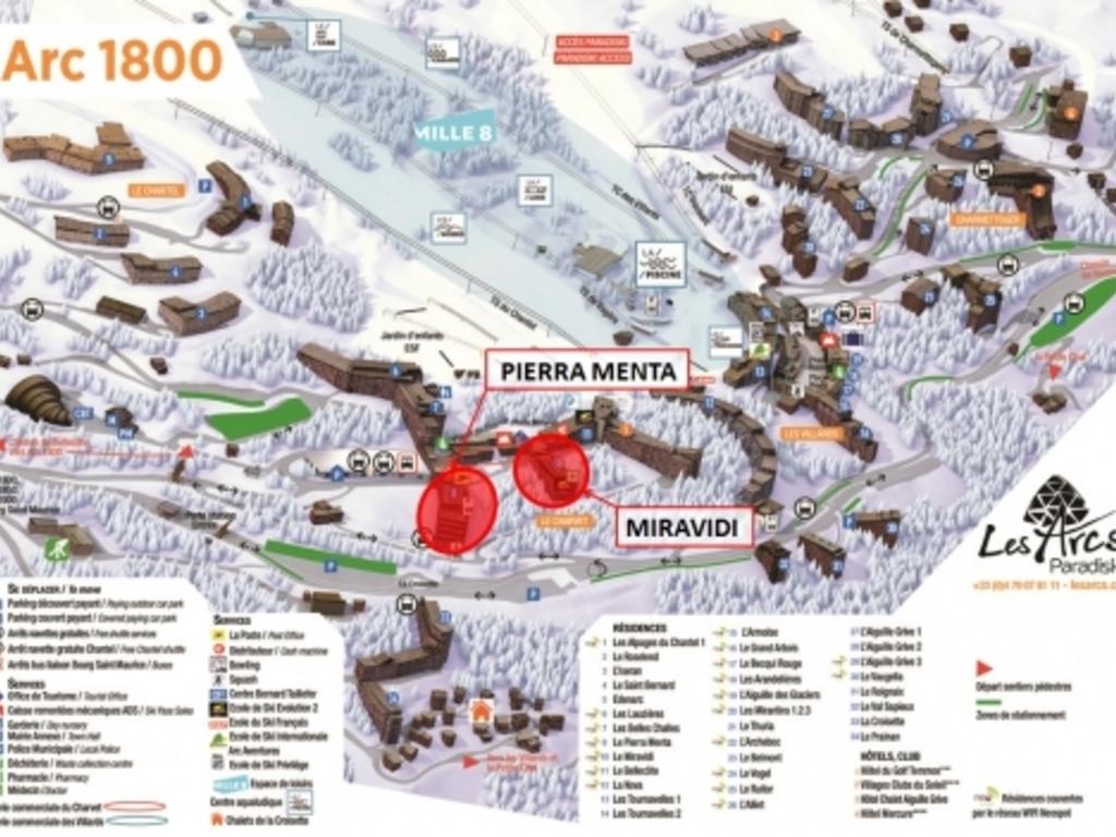 Résidence Le Miravidi Arc 1800