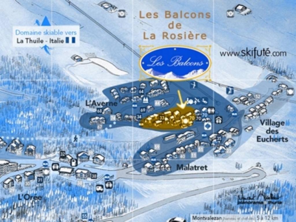 Résidence Les Balcons de La Rosière