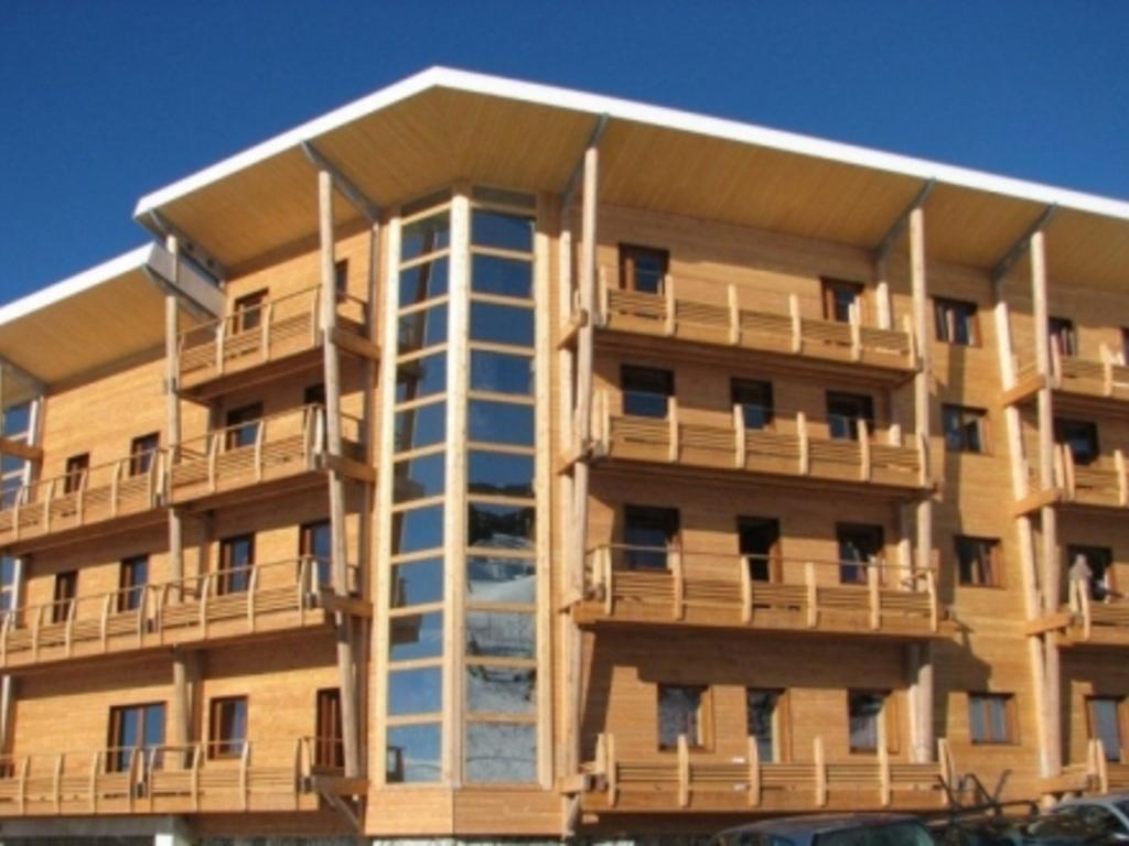 R sidence les balcons de recoin chamrousse - Residence de vacances gedney architecte ...